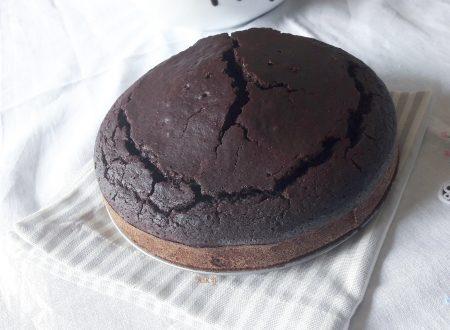 Torta al cioccolato in dieci minuti