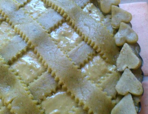 Crostata di pistacchio