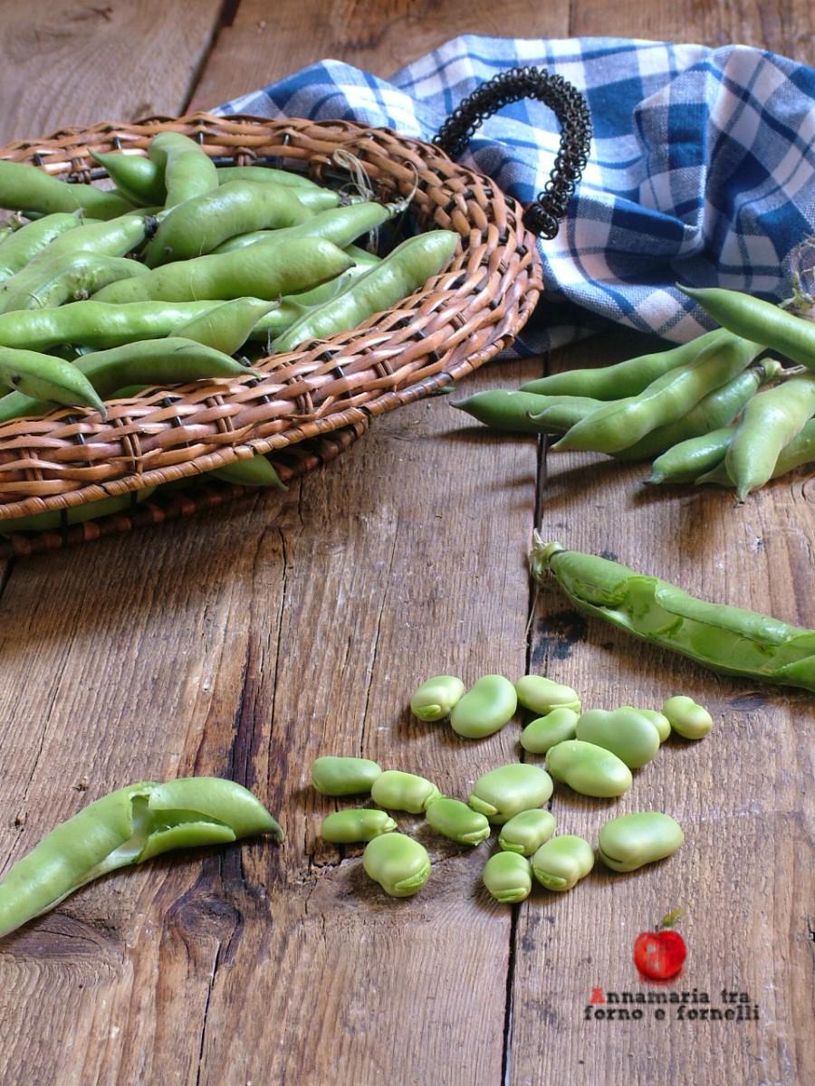 come conservare le fave verdi verticale