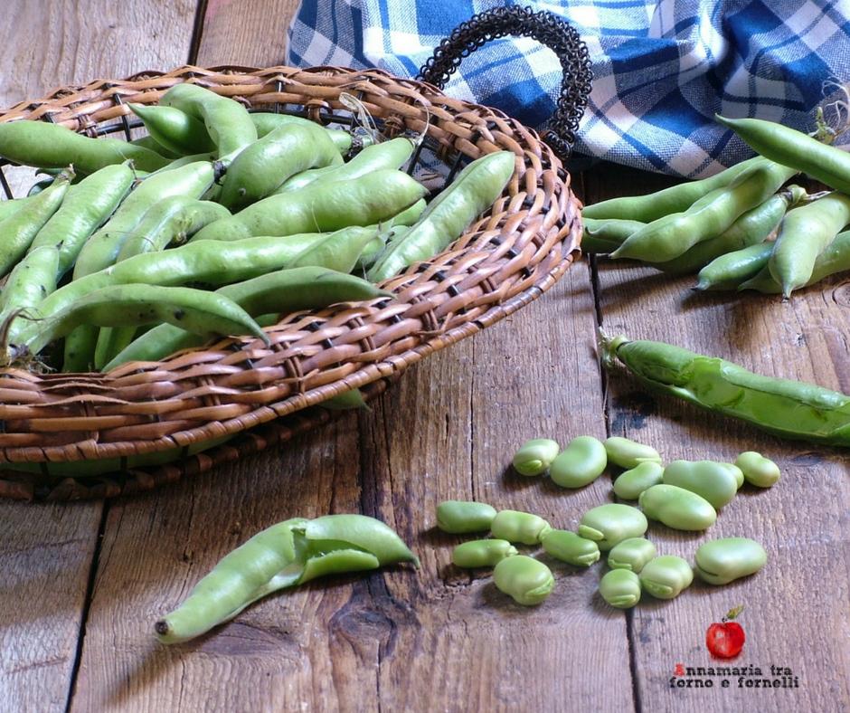 come conservare le fave verdi