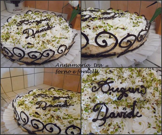 Collage torta davide