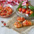 bruschette e pomodoro
