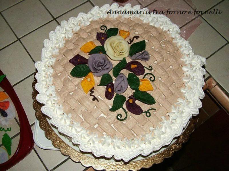 torta con crema al mascarpone