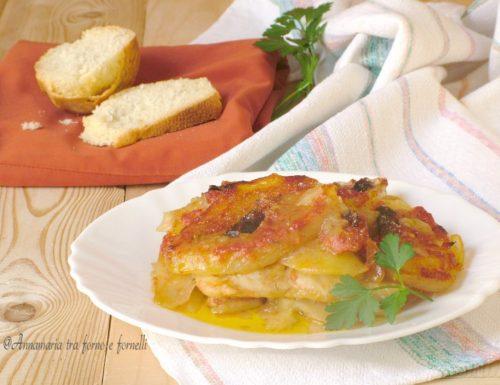 Filetto di merluzzo e patate
