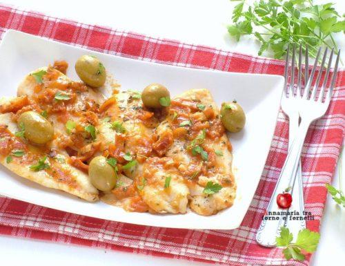 Filetti di merluzzo ai pomodori secchi
