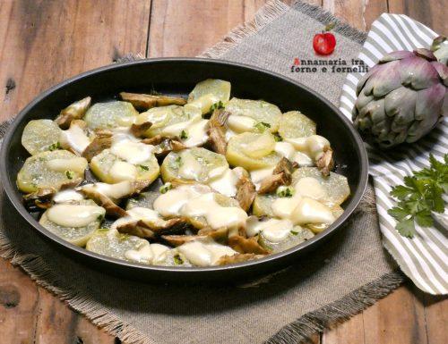 Patate e carciofi light