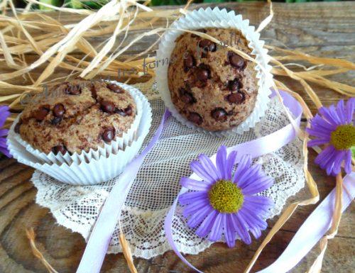 Muffin integrali con cioccolato