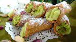 cannolicchi con crema al pistacchio 1