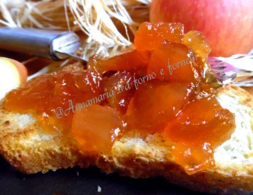 Confettura di mele deliziosa