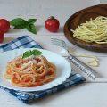 tagliolini pomodoro e pancetta 2
