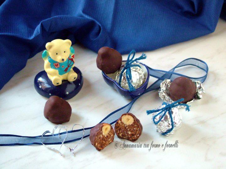 cioccolatini golosi alle nocciole