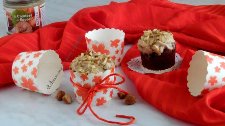 muffin con crema alla nocciola 1