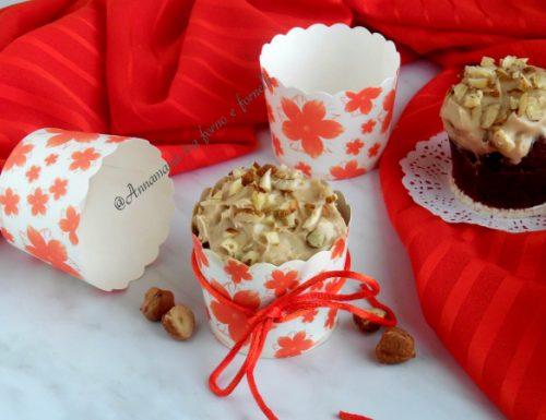 Muffin con crema alla nocciola
