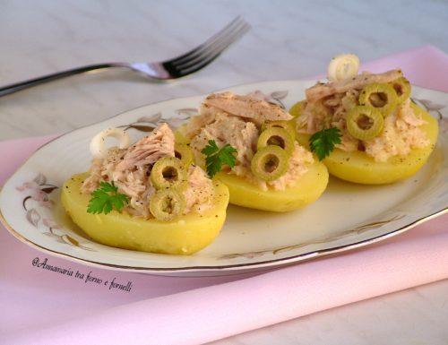 Barchette di patate sfiziose