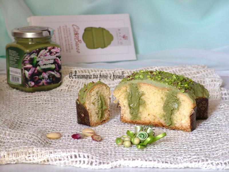 colombine glassate e farcite al pistacchio 2