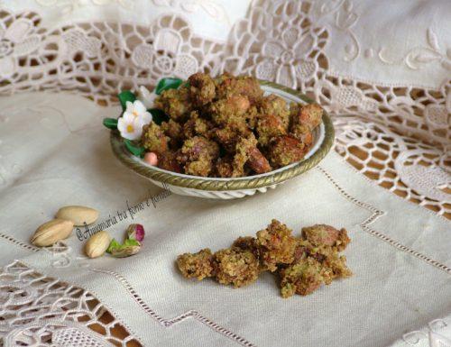 Mandorle pralinate al pistacchio