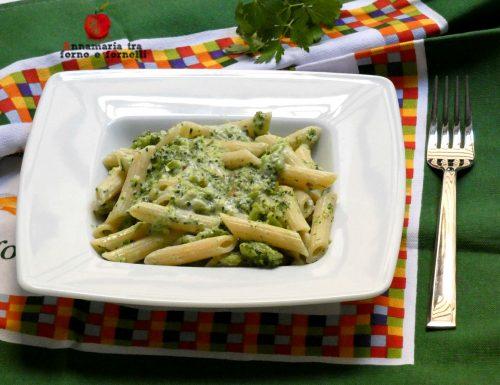 Pasta cremosa con broccoli