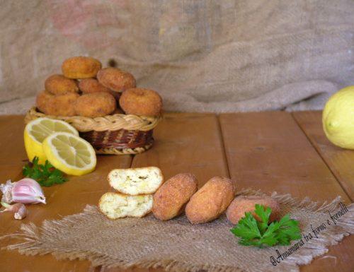 Polpette di baccala e patate