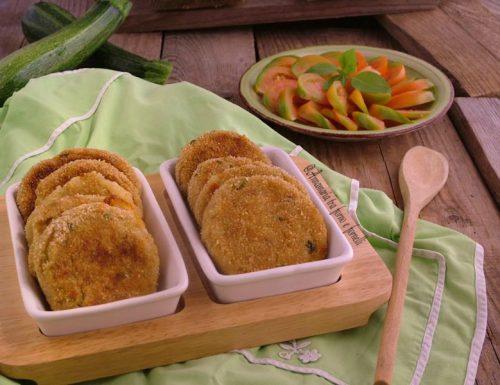 Medaglioni di patate zucchine e tonno