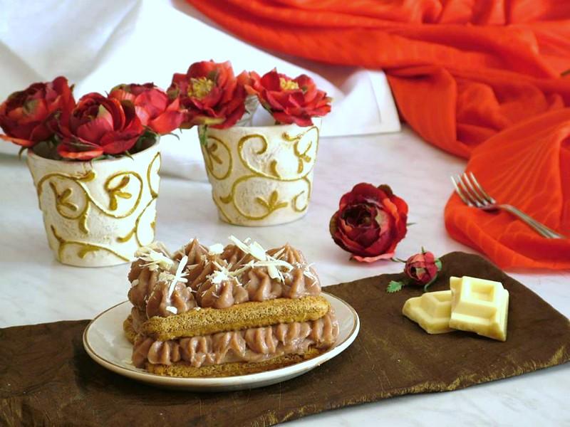 savoiardi con crema al nesquik