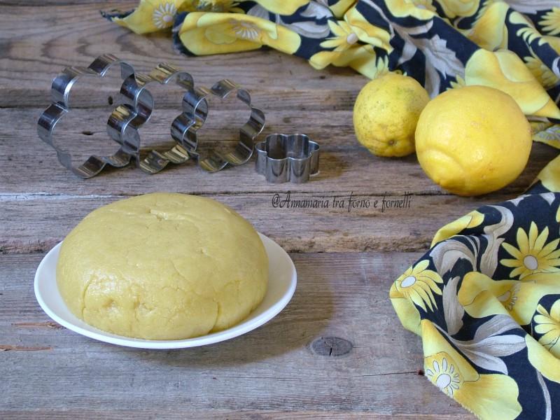 frolla leggera al limone