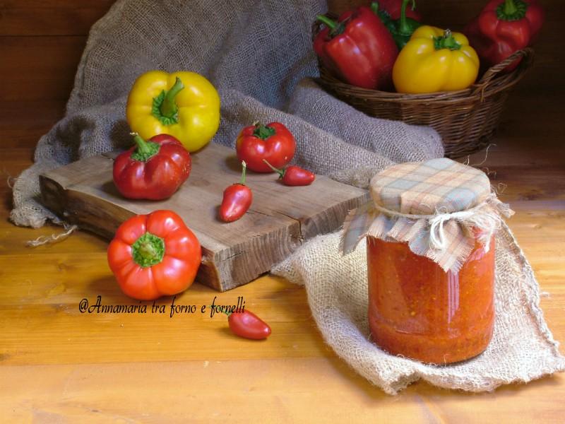 crema di peperoni dolci e peproncini 3