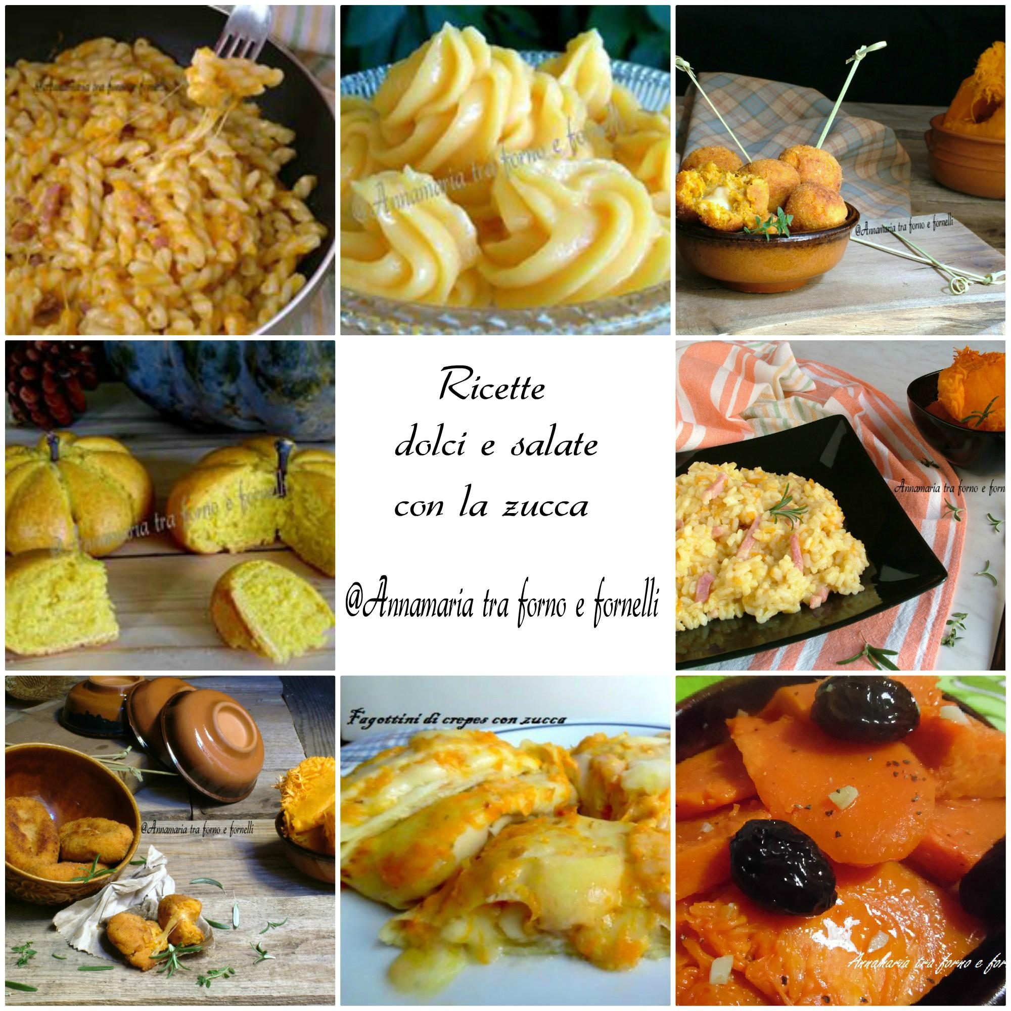 raccolta ricette dolci e salate con la zucca 2