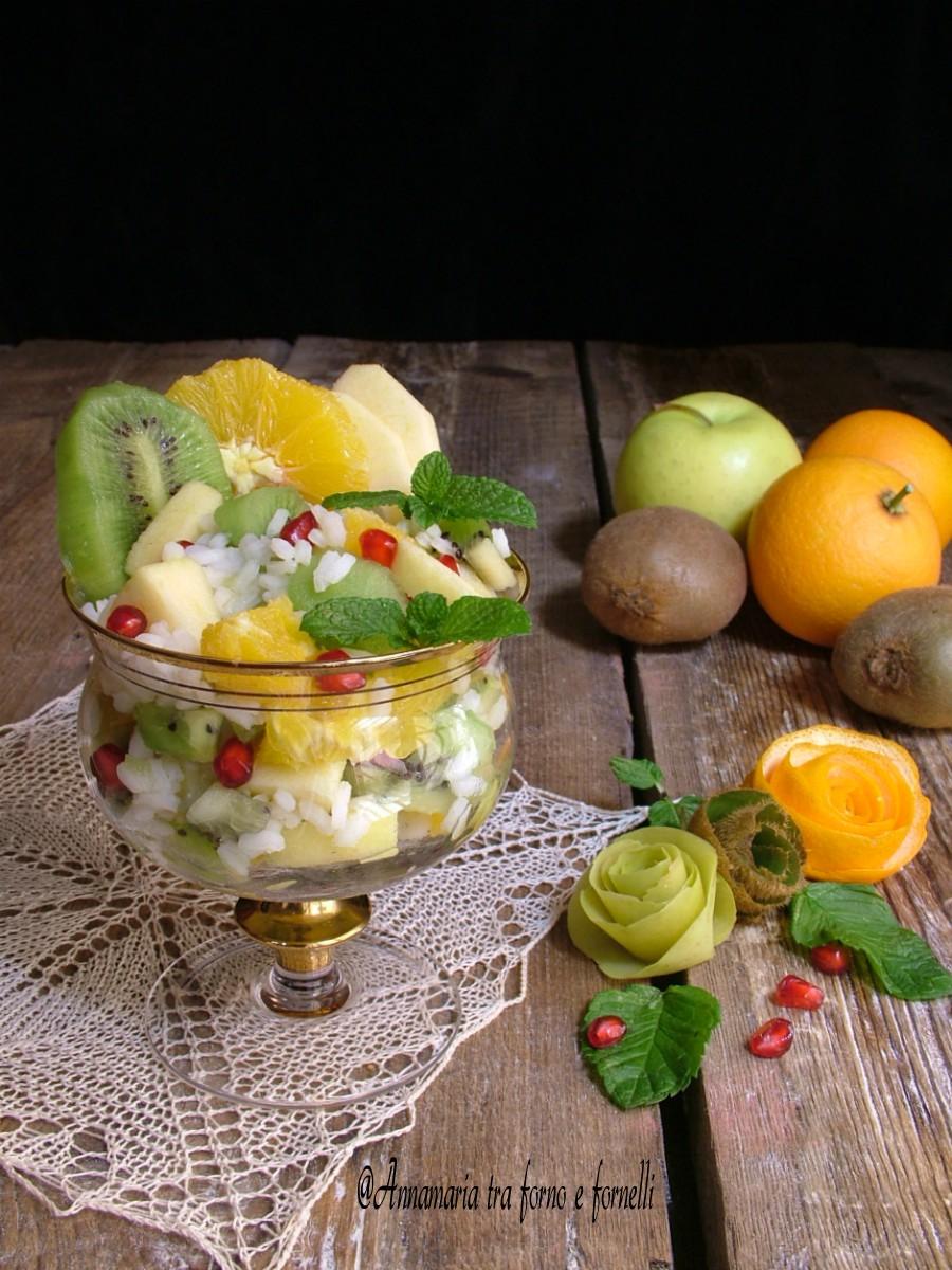 insalata di riso alla frutta 2