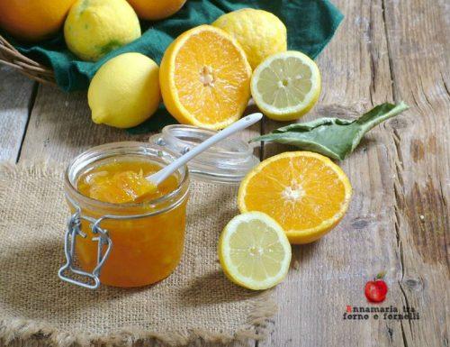 Marmellata di arance e limoni