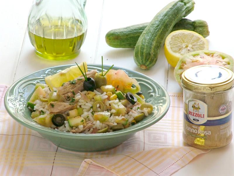 insalata di riso con tonno al limone 2