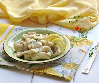 bocconcini cremosi di pollo al limone