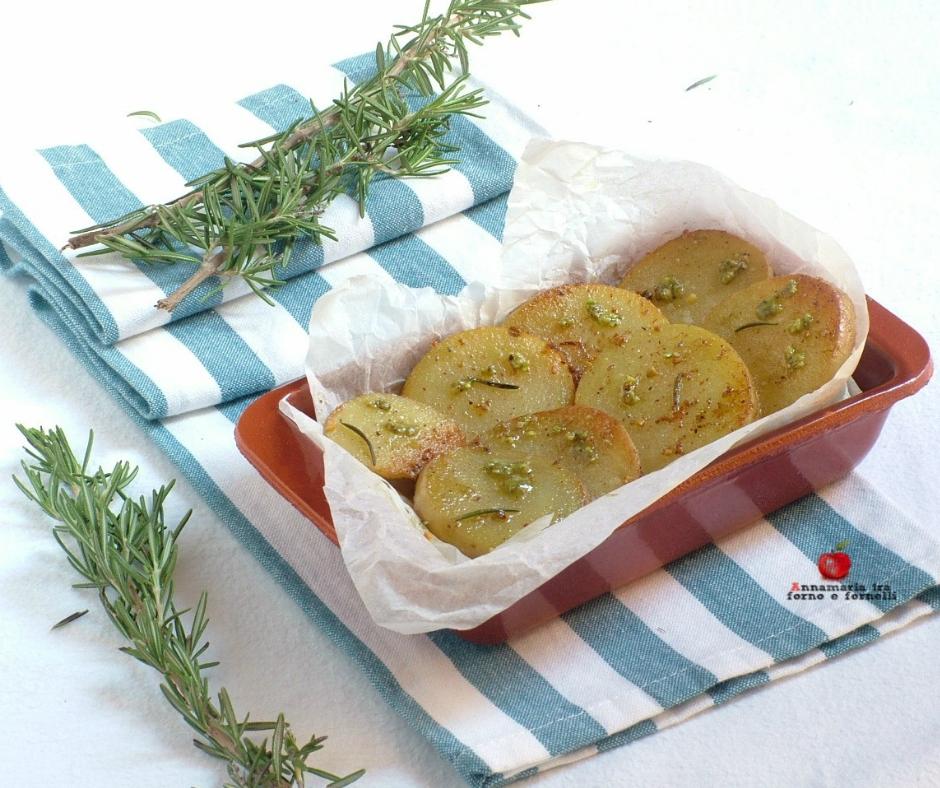 patate al pesto e rosmarino