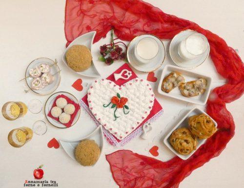 Brunch romantico di San Valentino