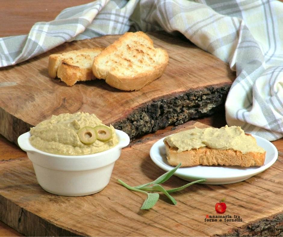crema di tonno e olive