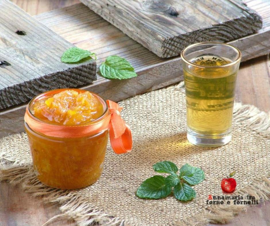 marmellata di clementine e mandarinetto