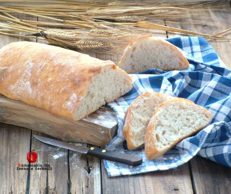 pane senza impasto a lievitazione lunga