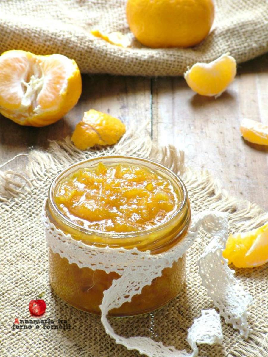 verticale marmellata di mandarini