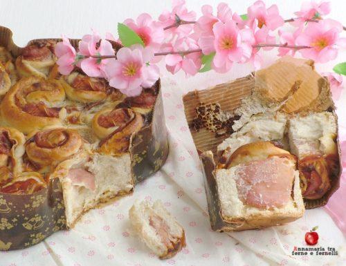 Colomba di rose salata