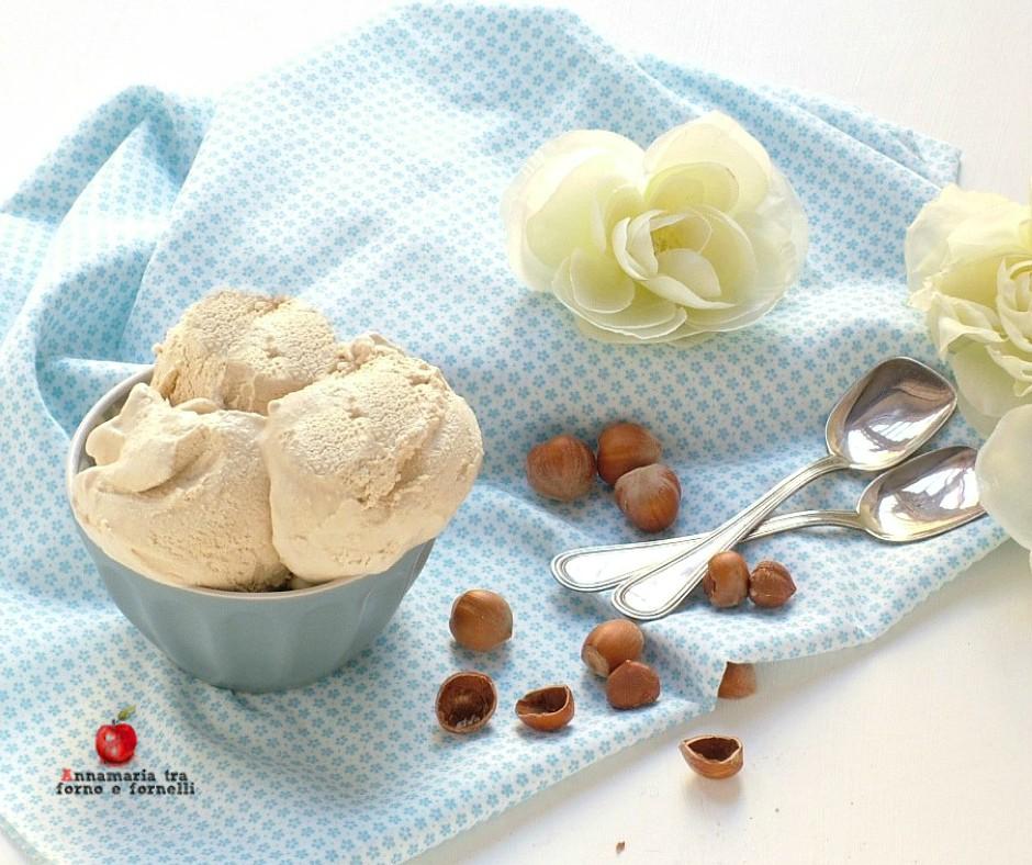 gelato gusto nocciola