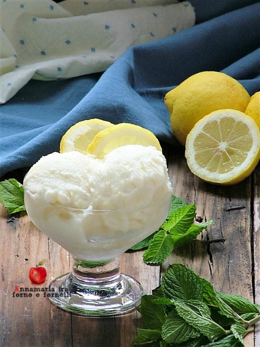 verticale gelato limone