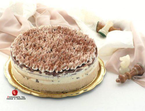 Torta semifreddo ai due colori