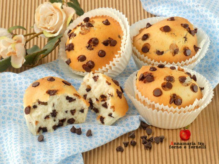 muffin con albumi nella friggitrice ad aria