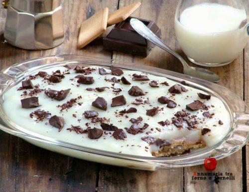 Crema di latte e biscotti