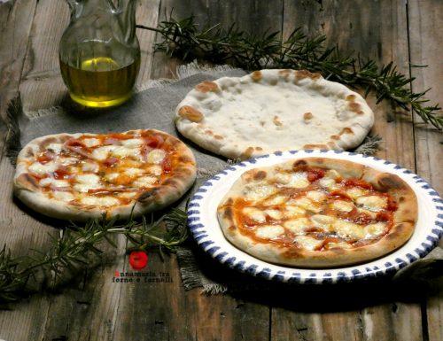 Pizza in padella con cottura veloce