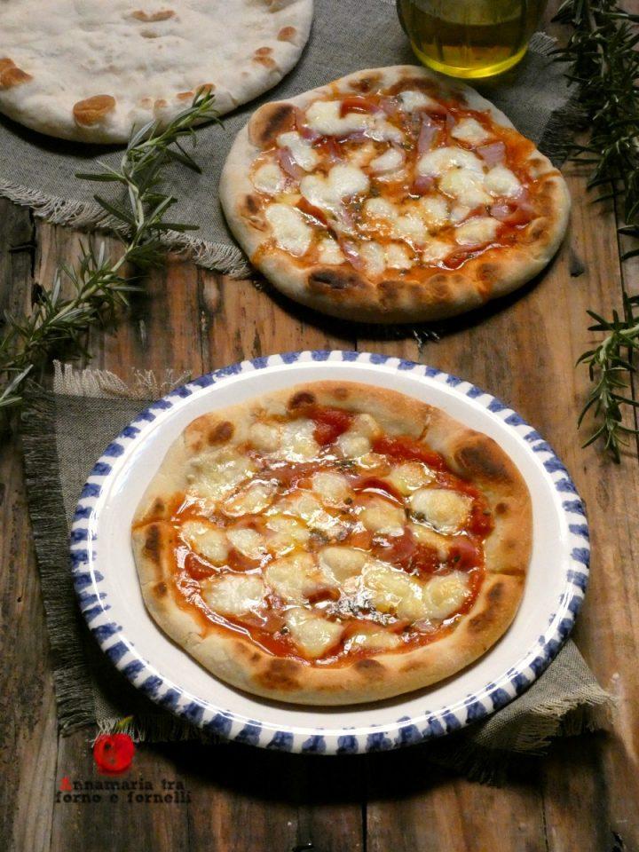 vpizza in padella con cottura veloce