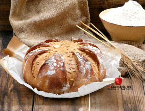 Pane incamiciato con fiocchi di avena