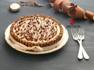 torta semifreddo al caffè e cioccolato