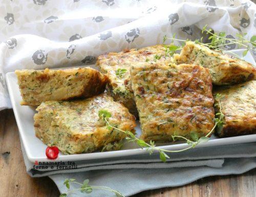 Frittata al forno con zucchine e patate