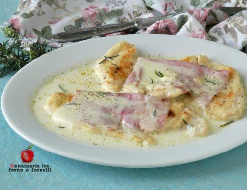 Petto di pollo con crema al formaggio