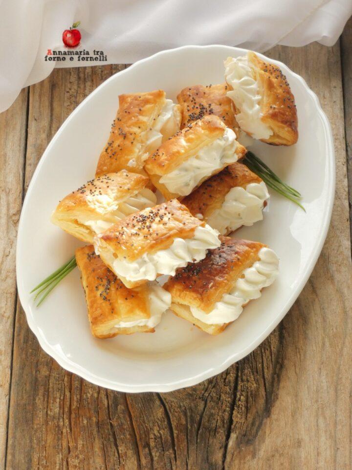 vportafogli di sfoglia con crema di formaggi (1)